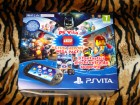 PS Vita Slim WiFi 8GB Lego Action Heroes Pack (3 igara)