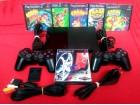 PS2 / MAX Full 90004 - Čip - 2 džoj, 25 igri, kartica