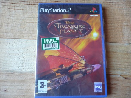 PS2 ORIGINAL IGRICA - TREASURE PLANET - BVG!