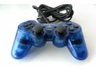 PS2 kontroler džojstik Transparent Blue DualShock 2