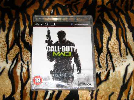 PS3 Igra Call Of Duty Modern Warfare 3