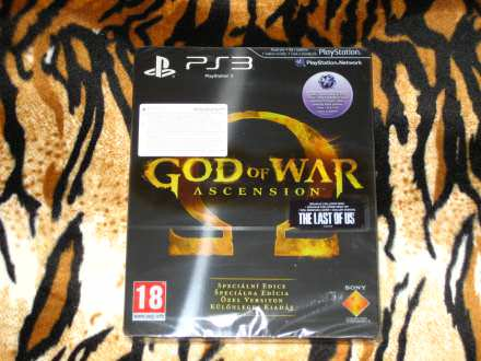 PS3 Igra God Of War Ascension Special Edition