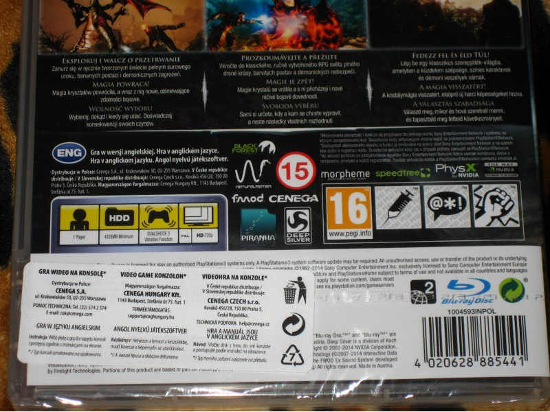 PS3 Igra Risen 3 Titan Lords First Edition