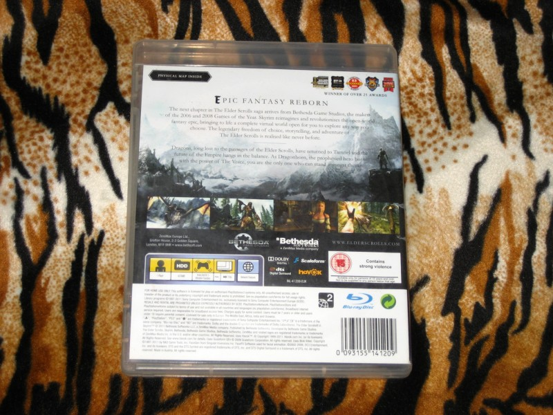 PS3 Igra The Elder Scrolls V Skyrim