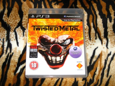 PS3 Igra Twisted Metal X