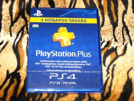 PS3 PS4 Vita PS Plus Pretplata Hu Account 90 Dana