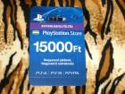 PS3 PS4 Vita PSN Card Dopuna Hu 15000 Forinti