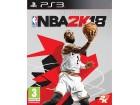 PS3 igrica: NBA 2K18 NOVO