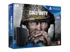 PS4 1TB Black Slim + Call of Duty WWII NOVO - Akcija