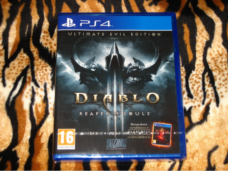 PS4 Igra Diablo 3 Reaper of Souls Ultimate Evil Edition