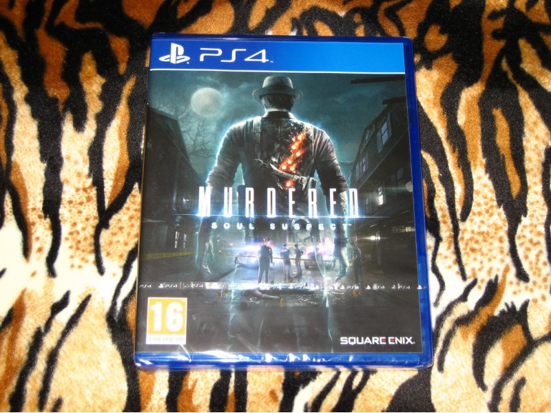 PS4 Igra Murdered Soul Suspect