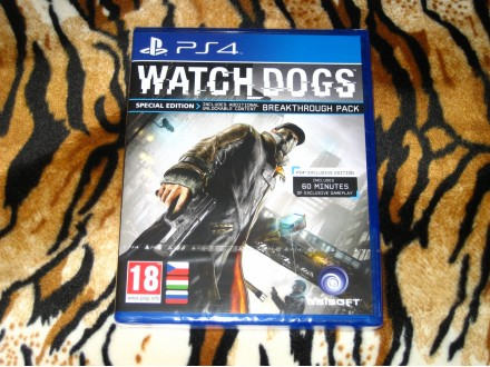 PS4 Igra Watch Dogs Exclusive Edition
