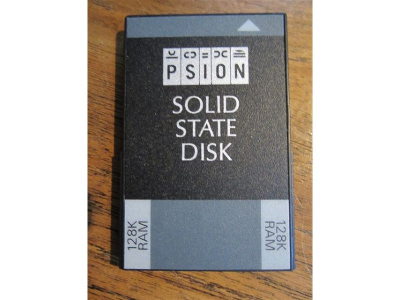 PSION Solid State Disk 128K RAM