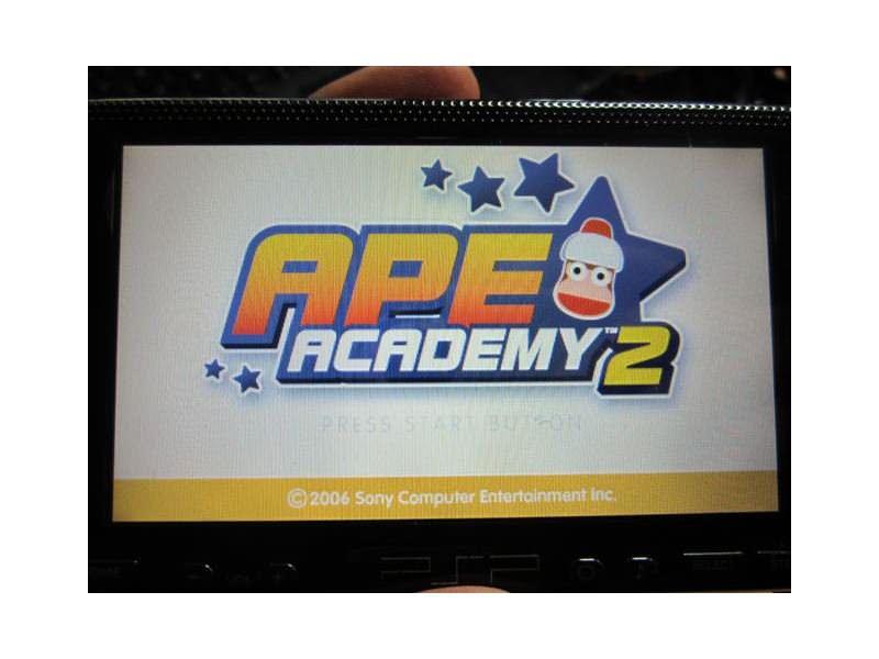 PSP igrica - Ape Academy 2