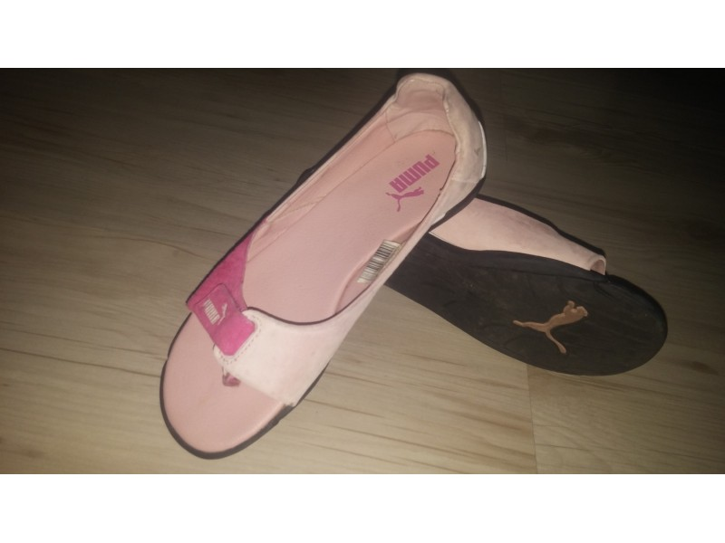 PUMA kožne sandale br.37
