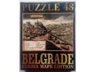 PUZZLE (48), BELGRADE - SERBIA MAPS EDITION