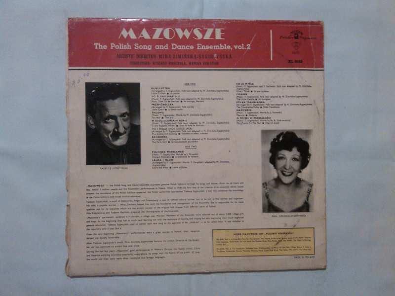 Państwowy Zespół Ludowy Pieśni I Tańca `Mazowsze` Im. Tadeusza Sygietyńskiego - The Polish Song And Dance Ensemble, Vol. 2