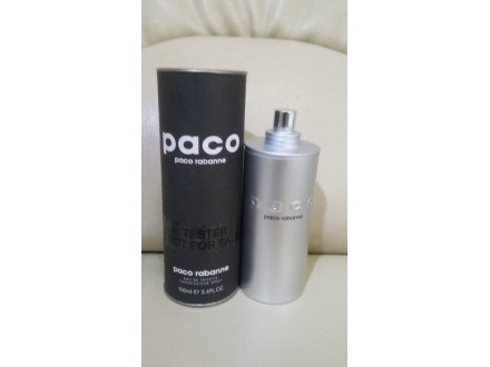 Paco Paco Rabanne TESTER