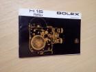 Paillard Bolex H16 Reflex kamera (Katalog)