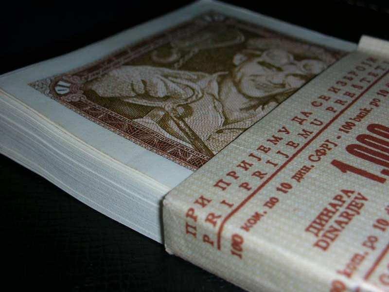 Paket 10 dinara SFRJ