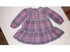 Pamučna haljinica za uzrast 12 - 18 mes - 80-86