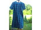 Pamucna plavo sarena haljina ,vel.42