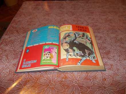 Pan strip br.4,16 + Kuriri br.609,610,612,616,619 i 620