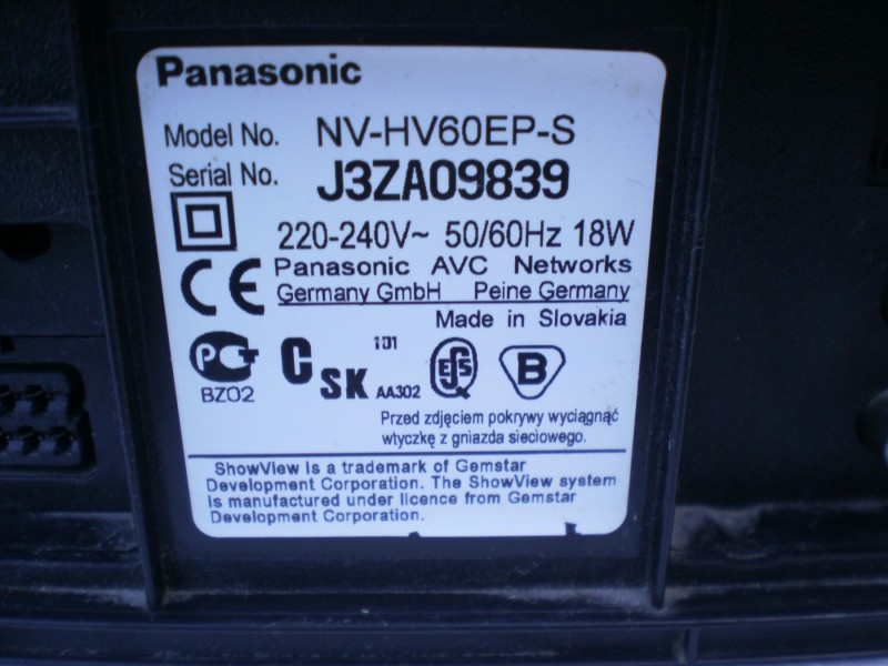 Panasonic NV-HV 60