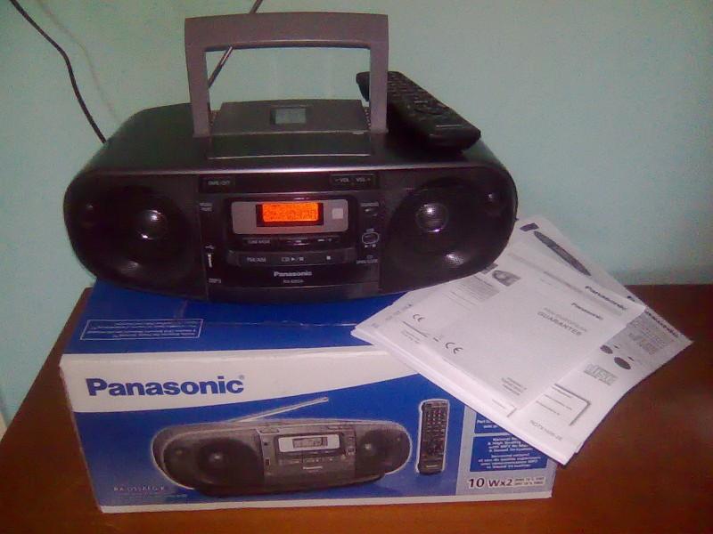 Panasonic RX-D55A BOOMBOX prenosivi (Novo! +poklon)
