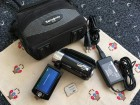 Panasonic SDR-S26 kamkorder, 16gb SD, Samsonite...