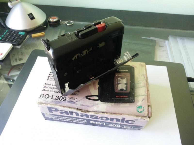 Panasonic diktafon