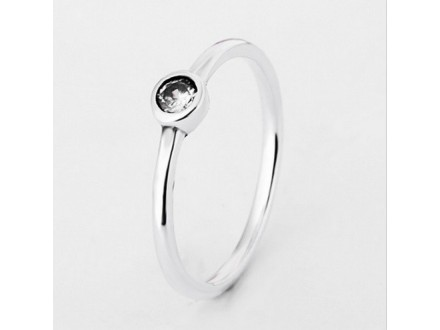 Pandora Classics Simple Crystal srebro s925