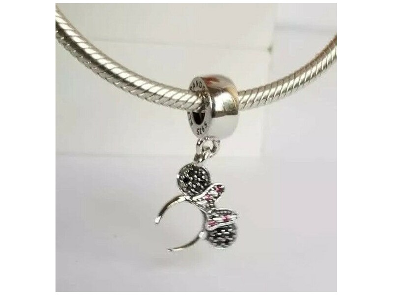 Pandora Disney Minnie Mouse Headband srebro ale s925