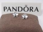 Pandora White Enamel Orchid mindjuse srebro s925