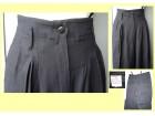 Pantalone , crne elegantne, nove, 36% vuna