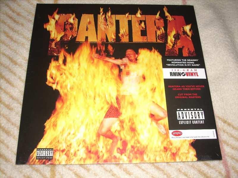 Pantera - Reinventing The Steel LP Novo!
