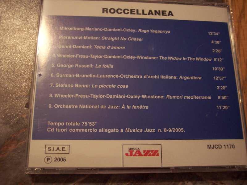 Paolo Damiani & Friends - Roccellanea - 25 Anni Di `Roccella Jazz`