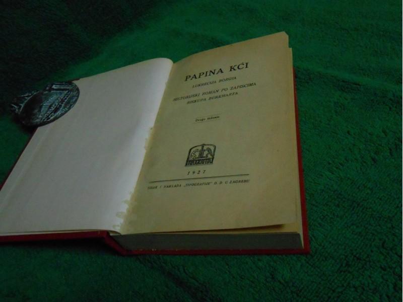 Papina kći  Lukrecija Borgija,Dario Fo  izd.1927.