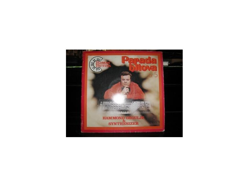 Parada Hitova Br. 5 - Hammond Orgulje & Synthesizer