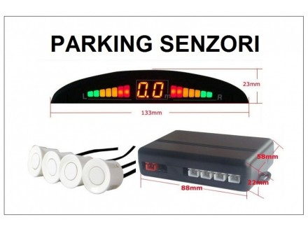 Parking senzori - univerzalni - BELI