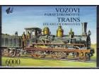 Parne lokomotive 1992.,karnet,čisto