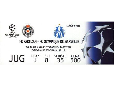 Partizan - Olympique de Marseille , 2003.god.