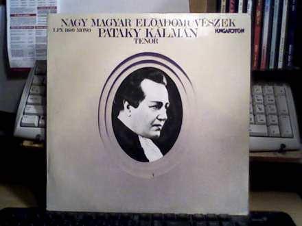 Pataky Kalman - Nagy Magyar Eloadomuveszek