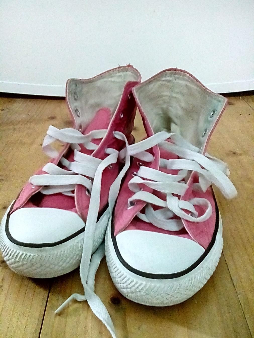 converse roze patike