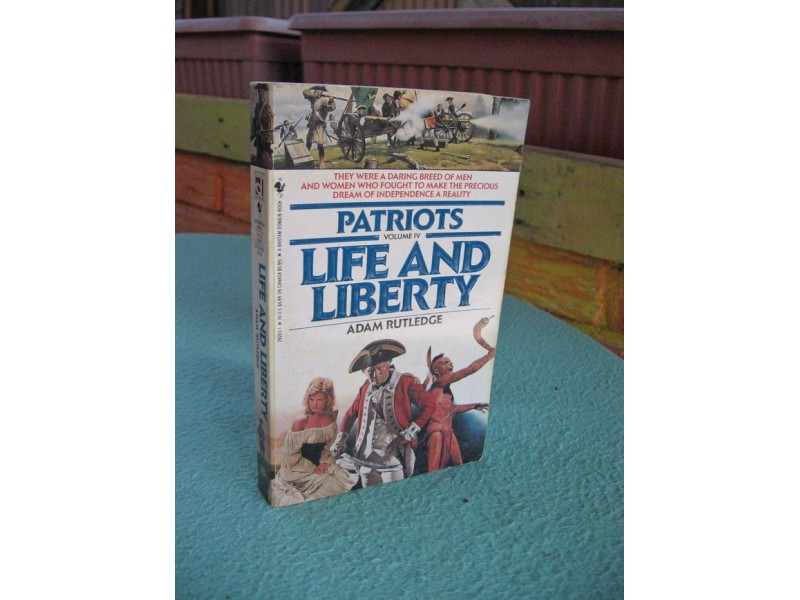 Patriots: Life and Liberty - Adam Rutledge