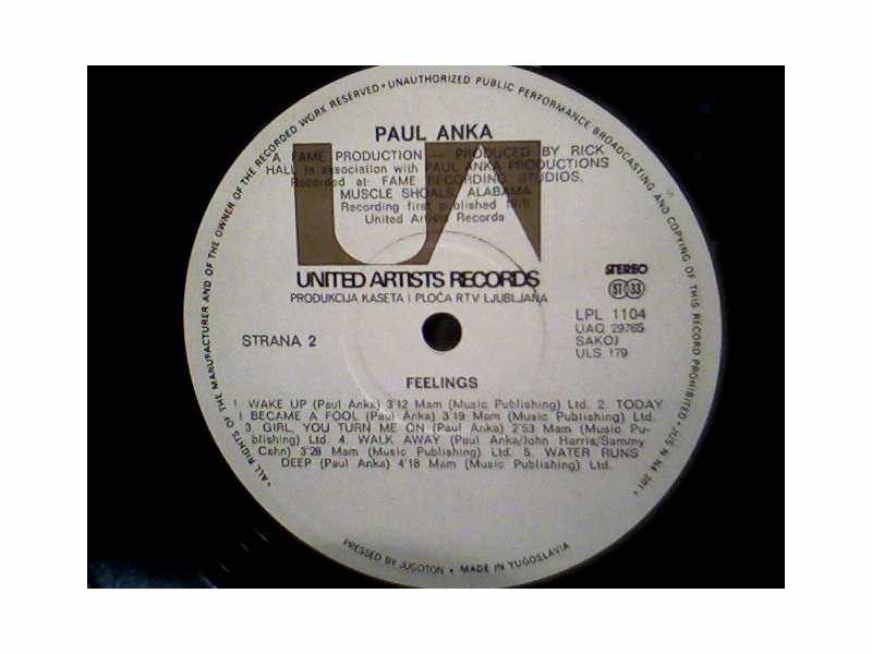 Paul Anka - Feelings