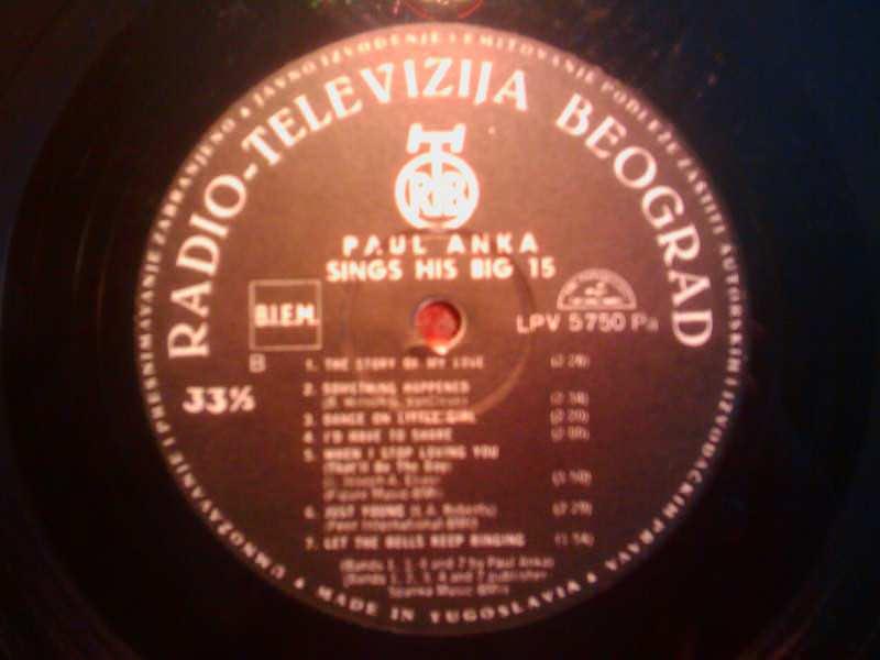 Paul Anka - Sing His BIG 15