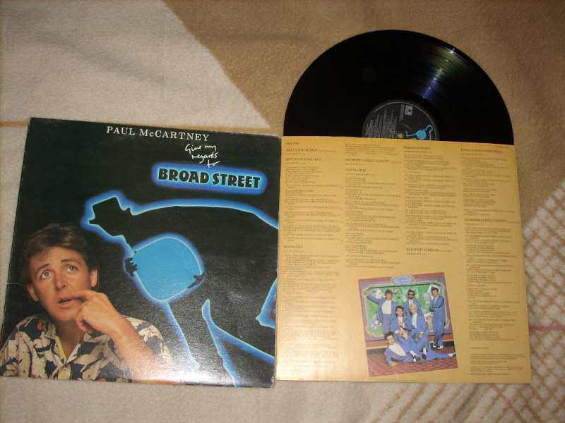Paul McCartney - Give My Regards To Broad Street LP