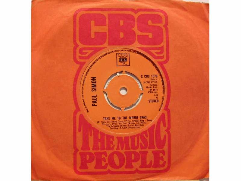 Paul Simon - Take Me To The Mardi Gras