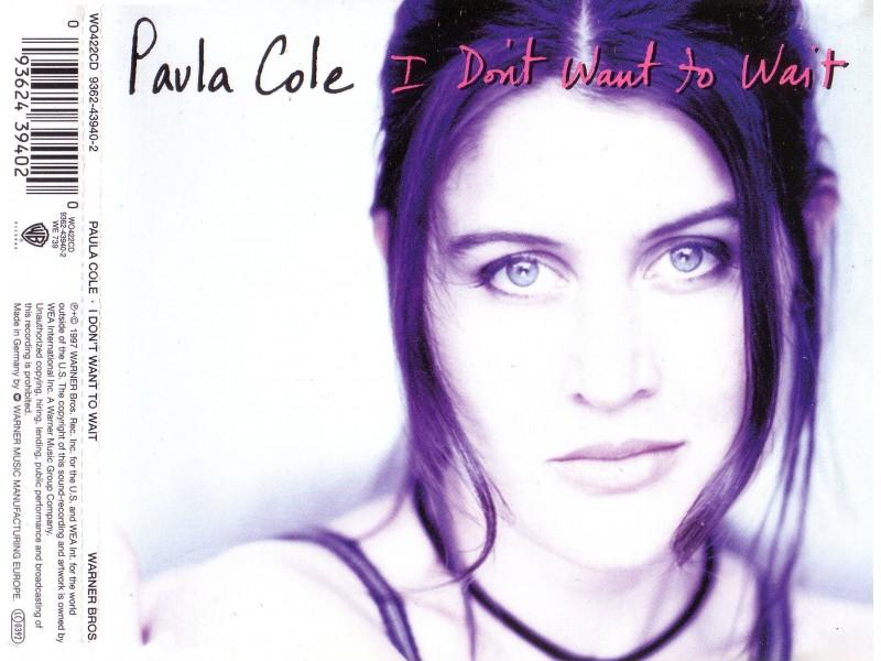 Paula Cole - I Don`t Want To Wait
